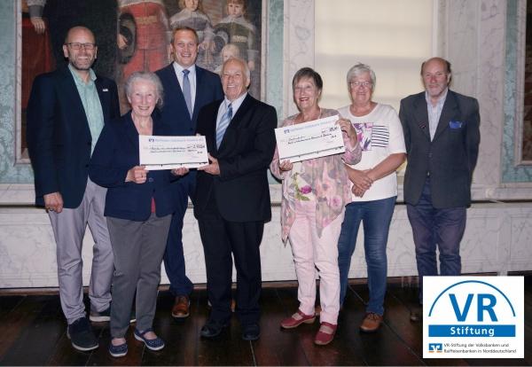 Raiffeisen-Volksbank Fresena eG untertstützt die Kunsttage in Dornum